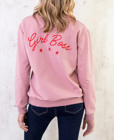 Sweater-Girl-Boss-Oud-Roze