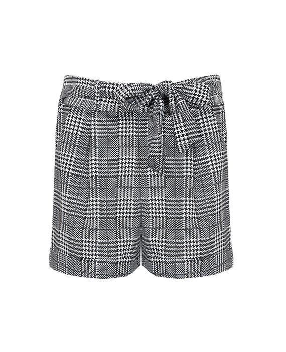 Strik-Shorts-Geblokt