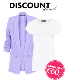 Discount-Deal-Simple-Things-Blazer-Lila